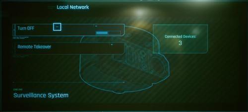 赛博朋克2077UI设计机器人外壳模具设计图片