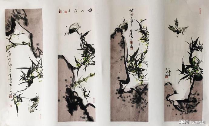 易坊·生活汇 墨破色法,是在于画家对其的理解和领悟,而不是使用