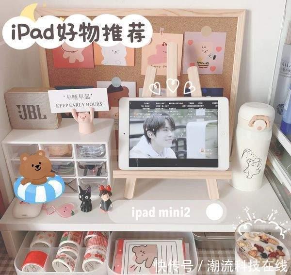 好物推荐!可可爱爱的iPad配件,我太喜欢了
