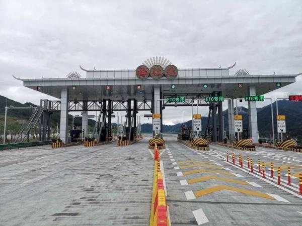 国庆节这天,贵州又有一条高速正式通车