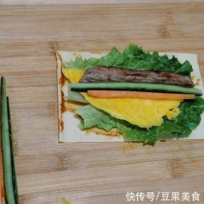 豆腐皮 无敌嫩牛小卷!减脂期的满足感
