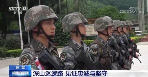 鬥酷暑,戰螞蟥、爬陡坡,這些就是邊防軍人的日常