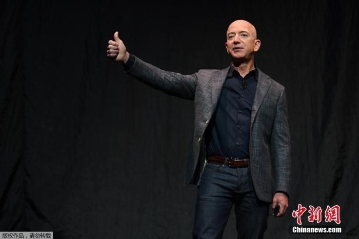 世界首富貝佐斯將卸任亞馬遜CEO 身價已達1962億美元