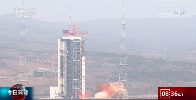 中國成功發射試驗六號03星 衛星順利進入預定軌道