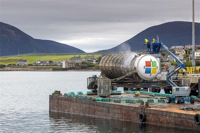 微软水下数据中心测试成功!成本低稳定性高,你的数据可能要存在海底了