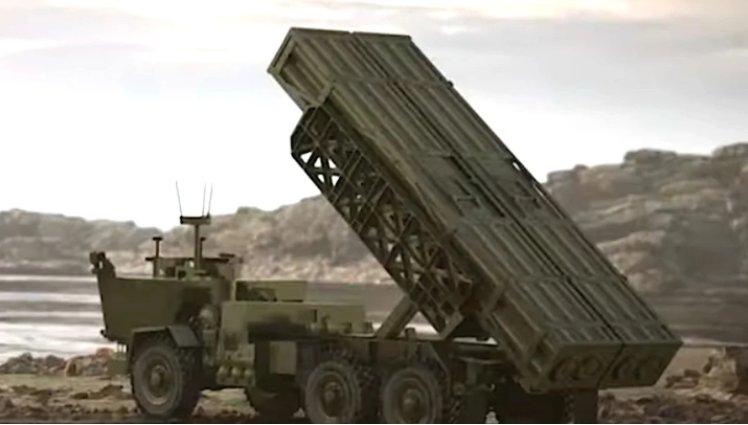 美軍無人火箭炮實彈測試瞄準亞太