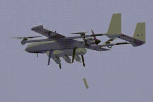 """外媒:美無人機投放子機後,中國無人蜂群""""空中母艦""""也試飛成功"""