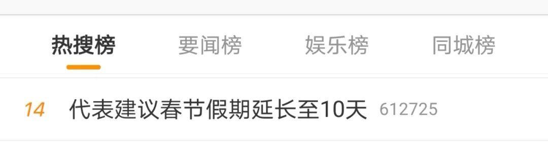 代表建議春節假期延長至10天!網友:力挺!但希望不要調休