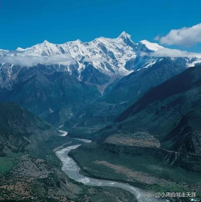自驾318线去往谧境墨脱,必看之一的就是雅鲁藏布大峡谷