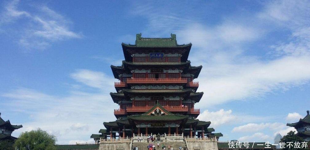 中國三大名樓之一前後重建達29次,屢毀屢建,你可知道!