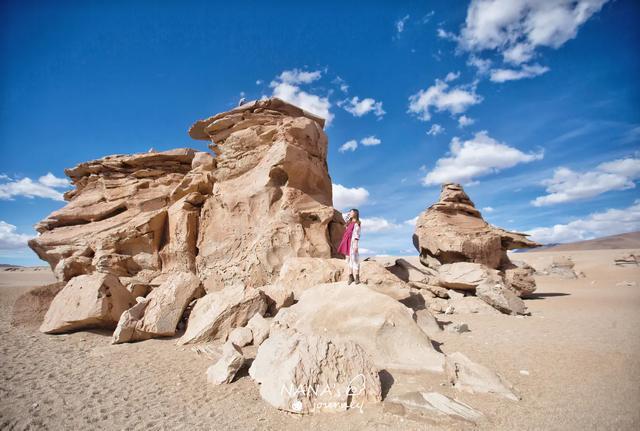 大自然的神奇杰作,丰姿多彩的石雕,乌尤尼无人区的一大亮点