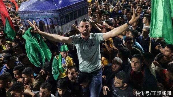 哈馬斯領導人首次公開露面