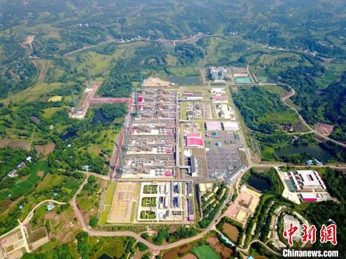 我國最大碳酸鹽巖整裝氣田累計產氣726億方