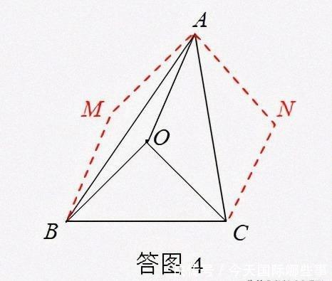 BC的同侧 关于四点共圆的几个命题以及反证法的运用