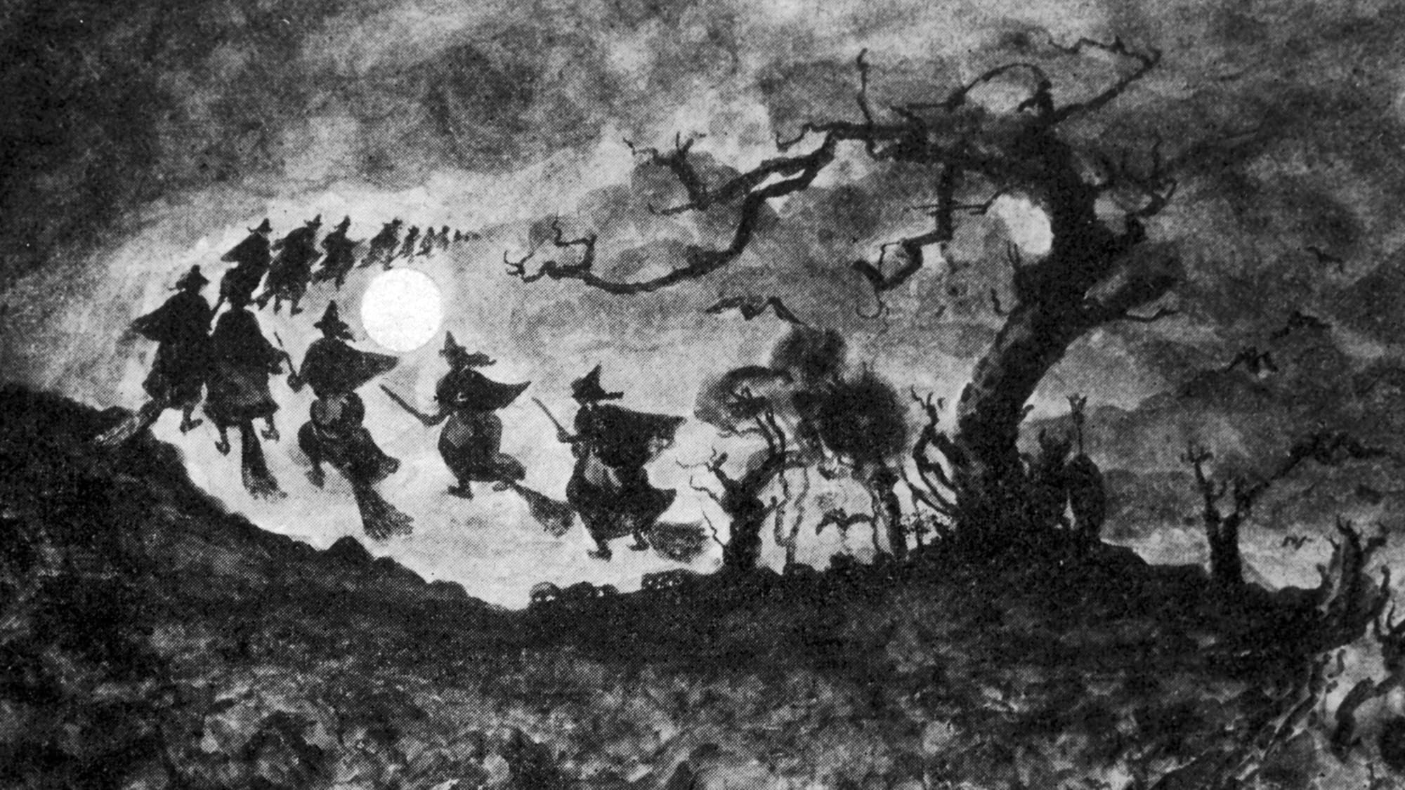 女巫为什么骑扫帚?传奇背后的历史
