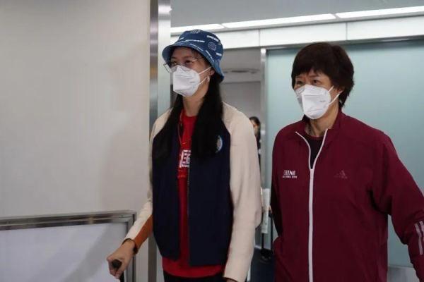 中國女排到日本瞭