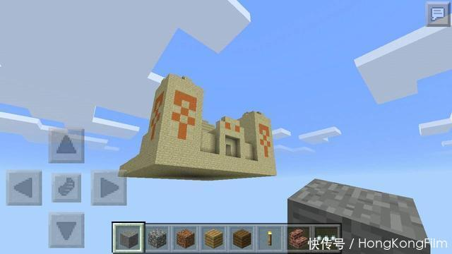 我的世界:寻宝路上的诡异时刻,刚发现沙漠神殿,却传来爆炸声!
