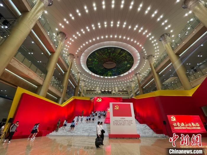 山東省慶祝中國共產黨成立100周年主題展濟南開展
