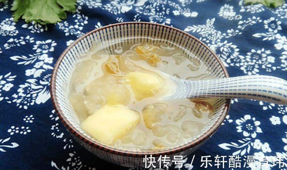 葡萄干 大热天,苹果和它是绝配,简单煮一煮,营养互补,肌肤更年轻