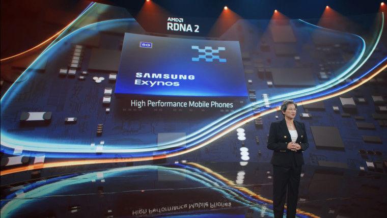 跑分|三星 Exynos 2200 芯片跑分曝光:AMD GPU性能远超苹果A14 Bionic