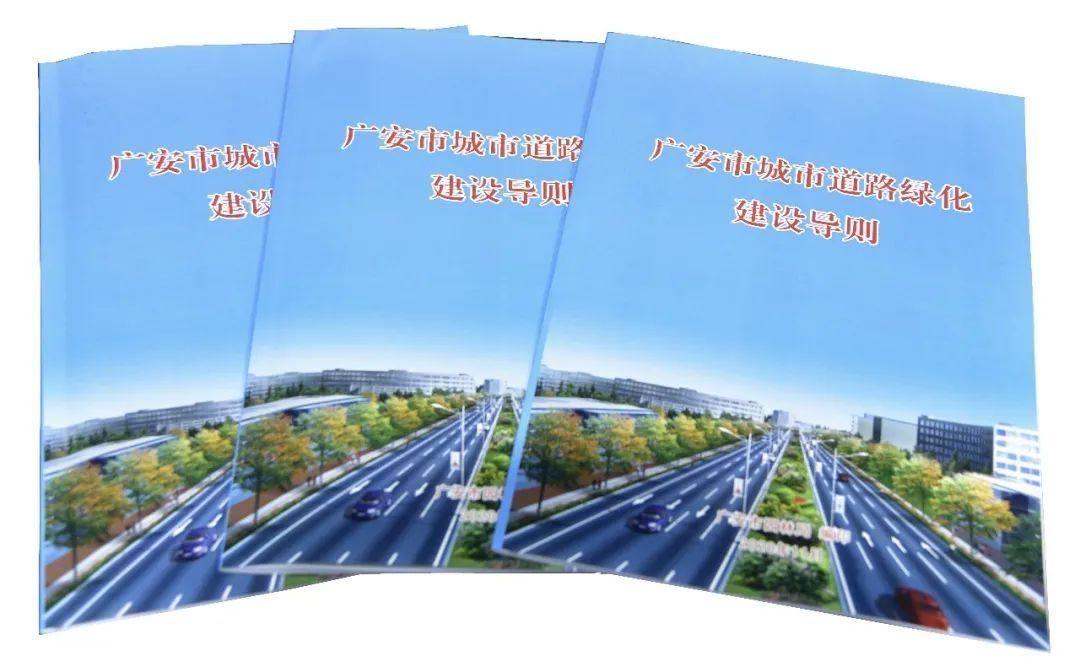 广安出台技术导则严格规范城市道路绿化设计建设