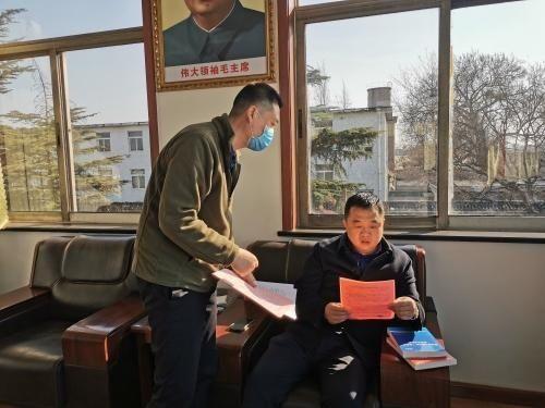 文昌湖区组织人事部开展留淄过年人才走访