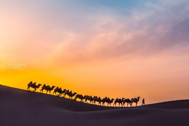 """世界上唯一与城市相连的沙漠,唐代称""""大患鬼魅碛"""",神秘又险恶"""