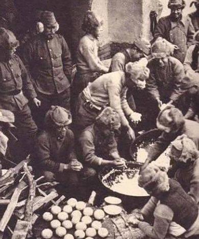 究竟|直击抗战时期日军吃饭的场景:物资极度匮乏的日军伙食究竟如何?