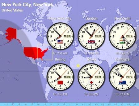 Sharp World Clock(世界时钟软件)汉化版