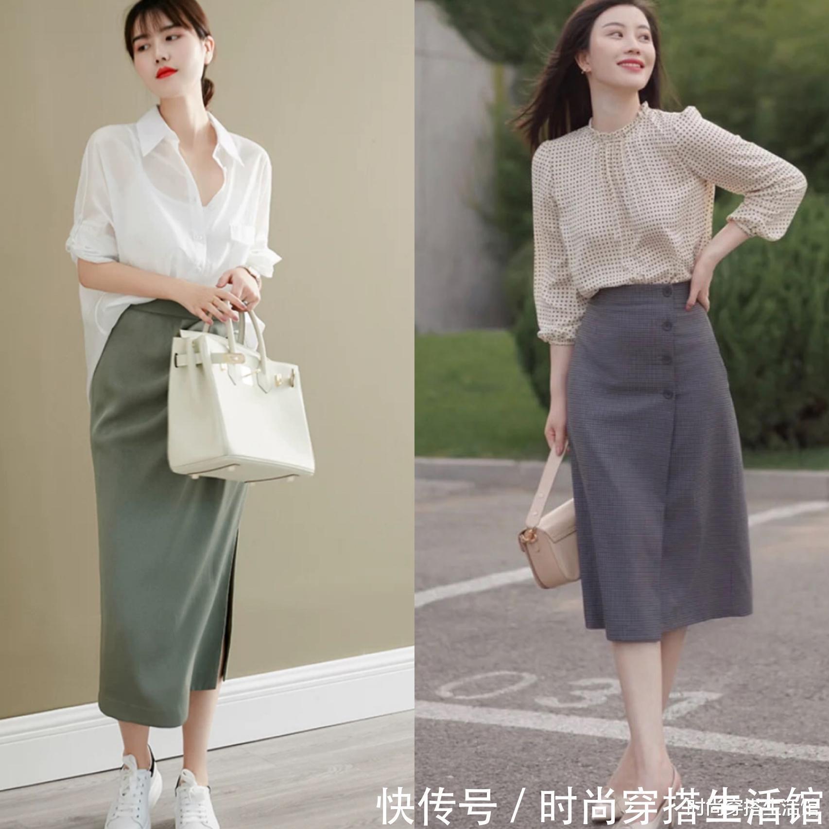 """身材比例 30、40岁女人,穿衬衫要懂得""""四穿四不穿"""",时髦减龄又有女人味"""