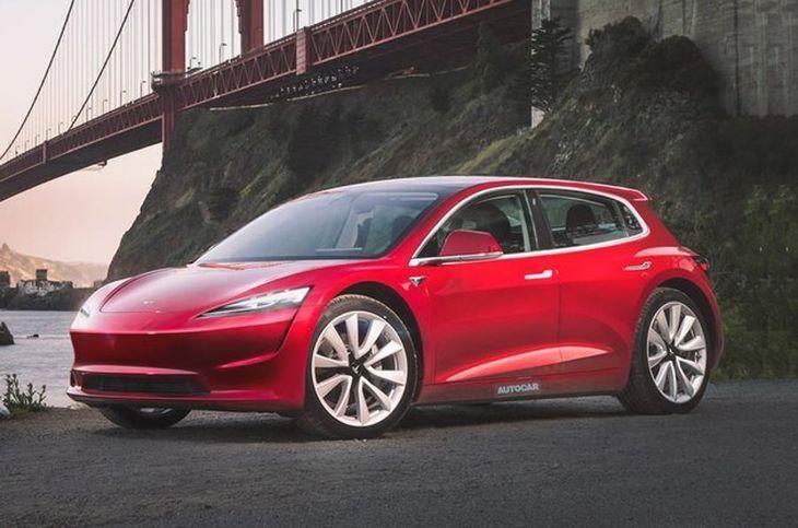 特斯拉全新轎車的渲染圖曝光 預計售價16萬元人民幣