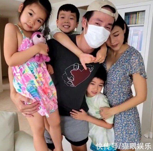 50歲視帝陳豪身體疑似亮紅燈,青筋暴起惹人擔憂,一家五口好幸福