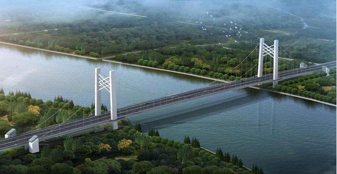 上海黄浦江第14座越江大桥今天开工,首次采用悬索桥书写浦江桥型新历史