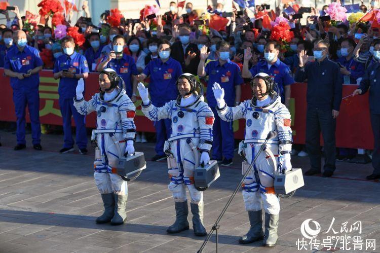 神舟十二号载人飞行 回放:神舟十二号载人飞船发射任务取得圆满成功