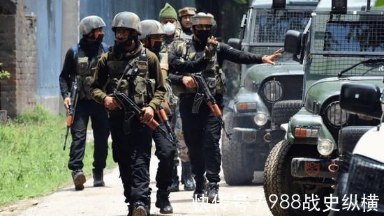 印媒:印軍抽調反恐部隊奔赴中印邊境 規模超過萬人