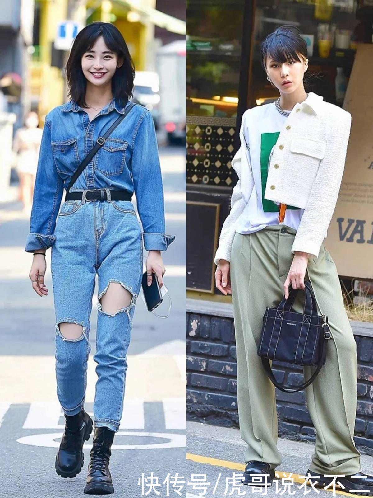 看完韓國美女的街拍才明白,好衣品比顏值更重要,照著穿潮爆街頭
