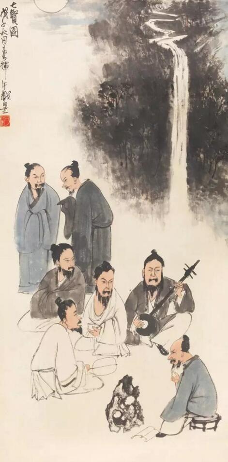 老舍先生:李可染是最伟大的人物画家