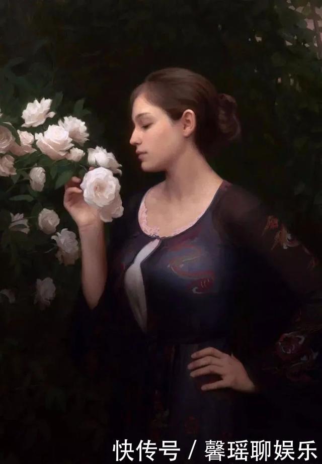 他画出了少女人体的羞涩之美:美国现实主义画家阿德里安的作品