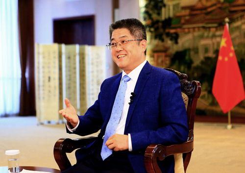外交部副部長樂玉成接受美聯社專訪