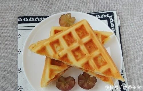 1碗麵粉,2個雞蛋,輕鬆做出香甜美味的華夫餅,簡單易做零難度