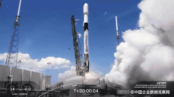 SpaceX將第24批星鏈衛星送入太空 今年發射10次