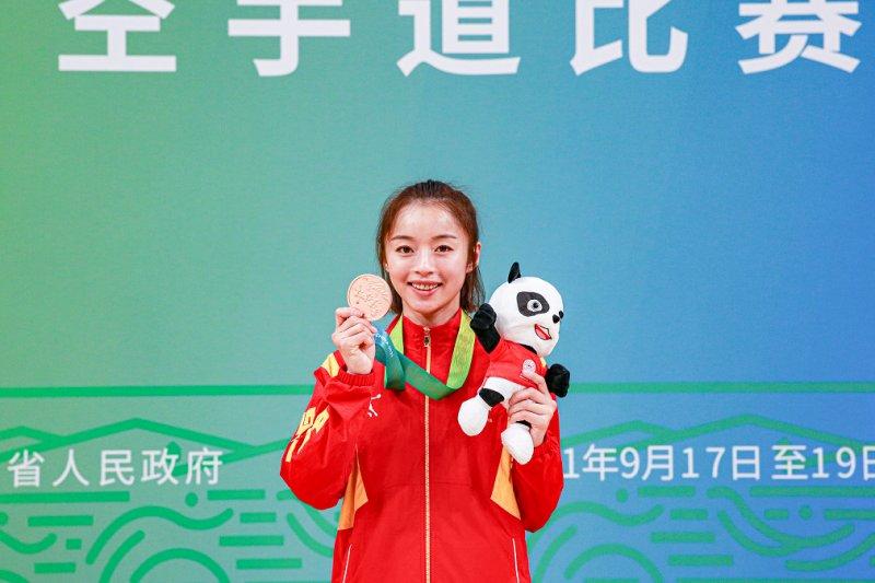 全运会,|,空手道赛场北京队斩获两枚铜牌