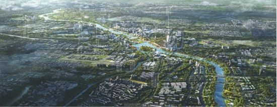 北京城市副中心大运河沿线景观风貌设计三种方案出炉 邀您来评选