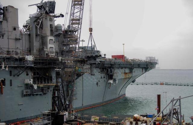 美媒炒作:美國軍艦面臨中國導彈的威脅,但美軍還沒準備好