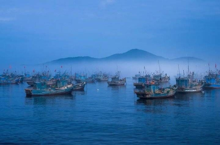 感受一下|这个冬日,不防去感受一下冬雾缭绕的威海
