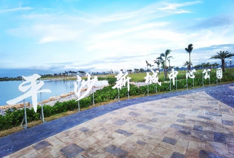 珠海高栏港一超大公园对外开放,山河湖海相接,含儿童游乐区