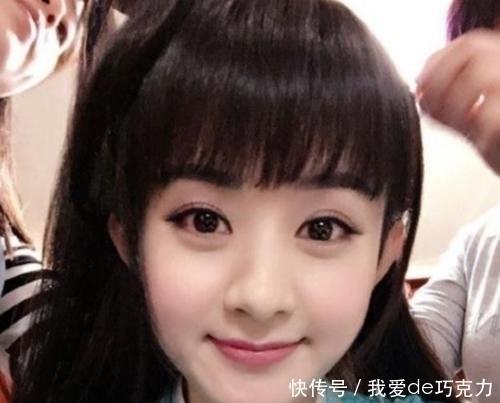 """這""""3種臉型""""的女孩,放棄""""劉海兒""""吧,否則顯老不止10歲喲"""
