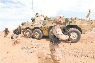 我駐吉佈提保障基地紮實開展實戰化訓練