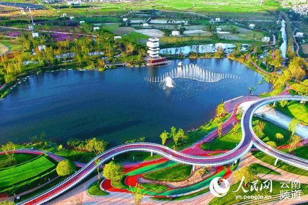 """雲南昌寧:高質量建設""""滇西最美田園城市"""""""