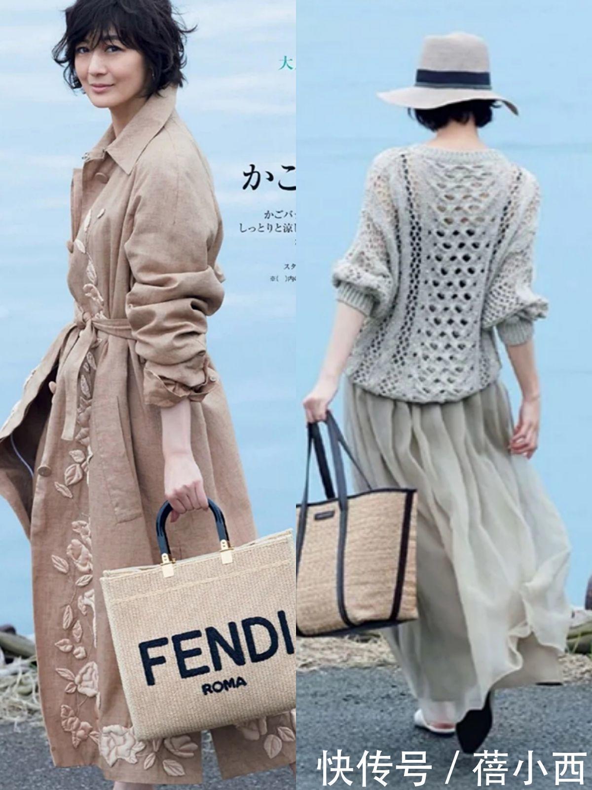 40、50歲的女人穿衣細節最關鍵,看日本博主簡約精致造型,太顯貴